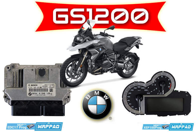MRPPad v 3.12 BMW GS1200 DASH + BMSX8 ECU