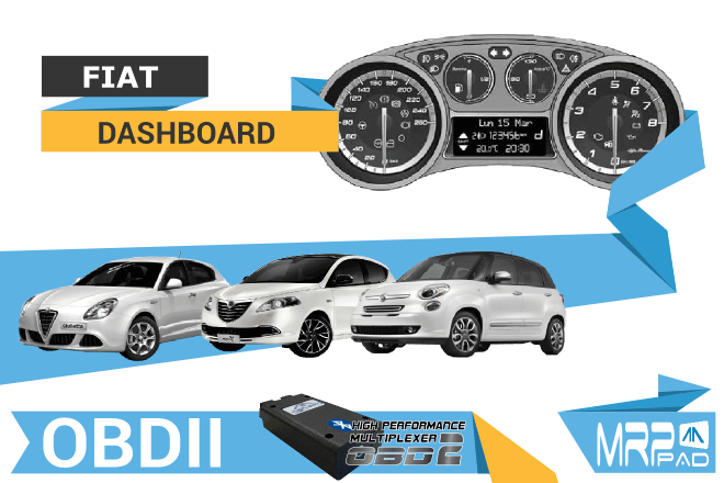 MRPPad version 1.58 dashboard Fiat group OBDII