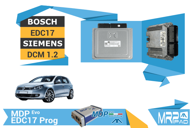 MRPPad version 1.59 Bosch EDC17 Siemens PCR2.1 VAG group