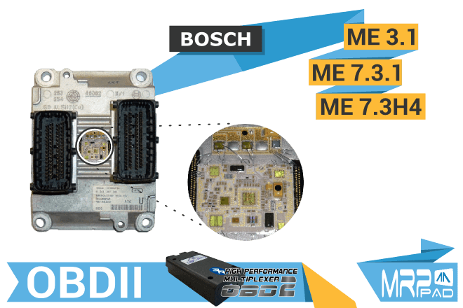 MRPPad version 1.70 Bosch ME7 ECUs