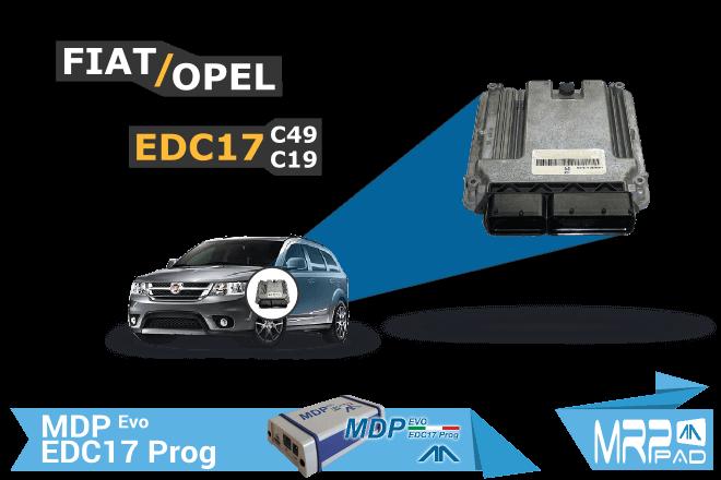 MRPPad version 1.83 - EDC17C49 EDC17C19 Fiat Opel
