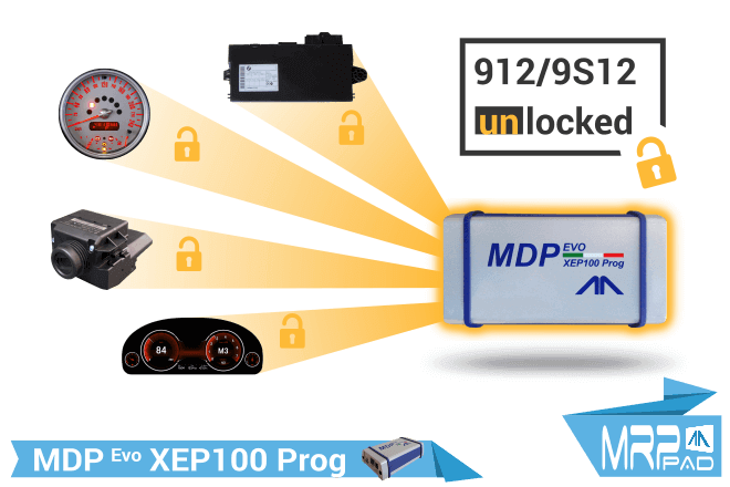 MRPPad version 1.86 912/9S12 locked XEP100Prog