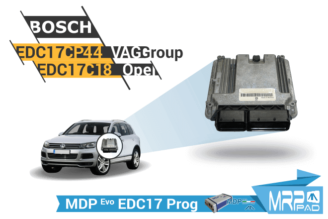 MRPPad version 1.87 EDC17 Vag Group Opel