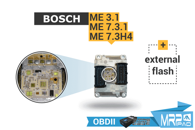 MRPPad 1.88 Bosch ME external flash OBD