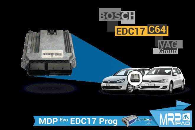 MRPPad 1.89 Bosch EDC17C64 VAG Group