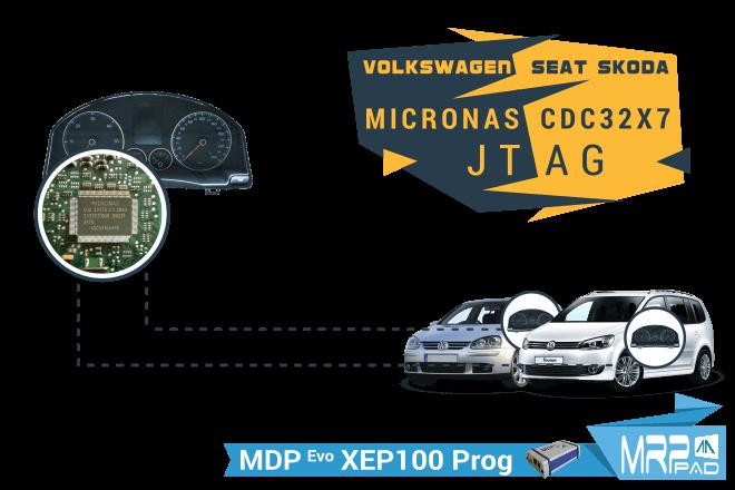 MRPPad V 2.07 Volkswagen Seat Skoda Micronas CDC32X7 JTAG