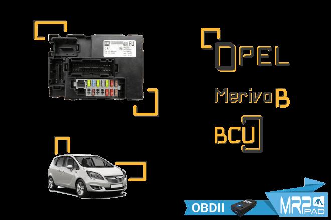 MRPPad V 2.14 Opel Meriva B BCU