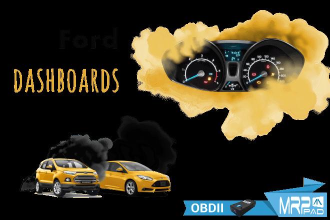 MRPPad V 2.15 Ford dashboards