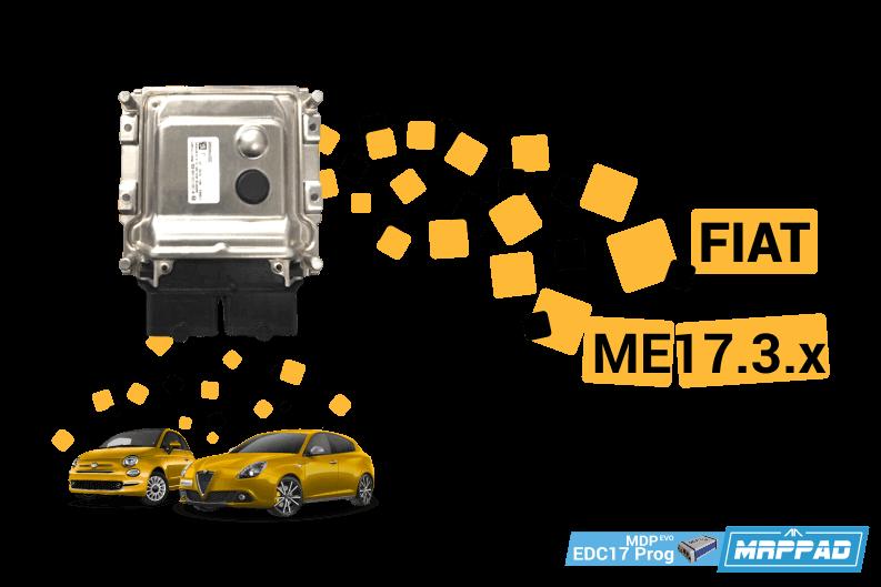 MRPPad v 2.23 Fiat ME17.3.x EDC17Prog